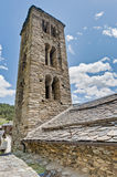 Sant Climent church at Pal, Andorra royalty free stock image