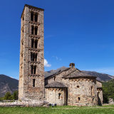 Sant Climent church in Taull Royalty Free Stock Images