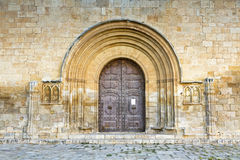 Sant creus entrance door Stock Image