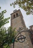 Sant Crist chapel in S�Arracó Stock Photography