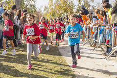 Free SANT CUGAT DEL VALLES, SPAIN - NOVEMBER 08: Traditional Cross For Children, Which Took Place In Sant Cugat Del Valles, Spain On N Stock Photography - 62299332