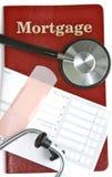 Santé d'hypothèque Photos stock