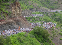 Sant Dnyaneshwar Palakhi, Пуна, махарастра, Индия Стоковое Изображение RF