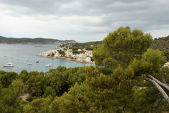 Sant Elm harbour Stock Photos