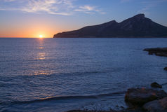 Sant Elm Sunset Stock Photography