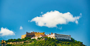 Sant-Elmo fortress, Certoza di San Martino`s monastery Royalty Free Stock Images