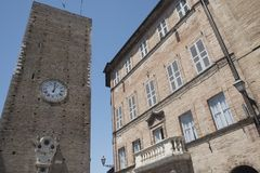 Sant`Elpidio a Mare Marches, Italy Stock Images