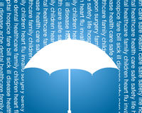 Santé et film publicitaire d'assurance-vie Photographie stock libre de droits