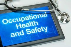 Santé et sécurité professionnelle Images stock