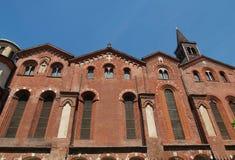 Sant Eustorgio church, Milan Royalty Free Stock Photography