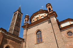 Sant Eustorgio church in Milan, Italy Stock Photography