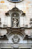 Sant Felip Neri com um pombo em sua cabeça Imagens de Stock
