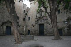 Sant Felipe Neri Square Royaltyfria Bilder