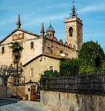 Sant Feliu church Royalty Free Stock Images