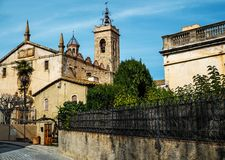 Sant Feliu church Stock Photo