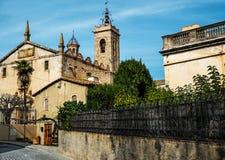Sant Feliu church Stock Photo