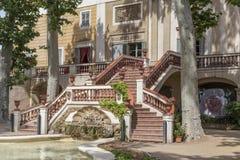 Sant Feliu de Llobregat,Catalonia,Spain. Classic architecture, Palace, Palau Falguera, Sant Feliu de Llobregat, province Barcelona, Catalonia stock image