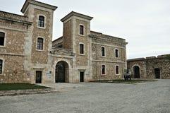 Sant ferran Castle stock photography