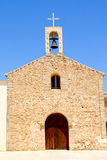 Sant Ferran church and belfry in Formentera Stock Photography