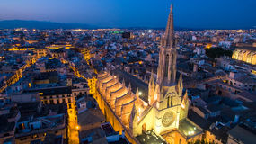 Sant Francesc教会de马略卡01 免版税库存照片