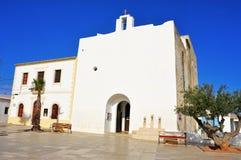 Sant Francesc Xavier Church in Sant Francesc de Formentera, Bale Royalty Free Stock Image