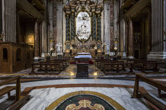 Sant Ignazio church, Rome, Italy Royalty Free Stock Images