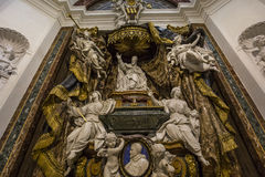Sant Ignazio kyrka, Rome, Italien Royaltyfri Foto