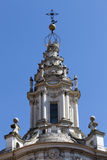 Sant Ivo alla Sapienza, Roman Catholic Church. Detail Stock Photography