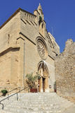 Sant Jaume教会在Alcudia 免版税库存照片