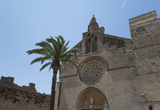 Sant Jaume church Royalty Free Stock Images