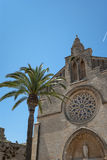 Sant Jaume church Stock Image