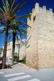 Sant Jaume church in Alcudia Stock Images