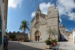 Sant Jaume kyrka i Alcudia Royaltyfri Fotografi