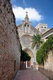 Sant Jaume kyrka i Alcudia Royaltyfri Bild