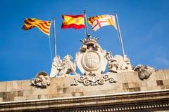 Sant Jaume square Stock Images