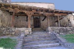 Sant Joan de Caselles, ancient church of Andorra Stock Photos