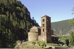 Sant Joan de Caselles (Andorra), old church Stock Photo