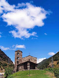 Sant Joan de Caselles (Andorra), romanesque church Royalty Free Stock Image