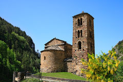 Sant Joan de Caselles (Canillo, Andorra) Stock Photo