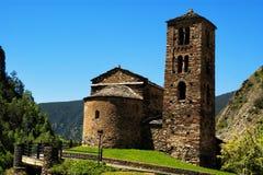 Sant Joan de Caselles Canillo, Andorra Stock Photo