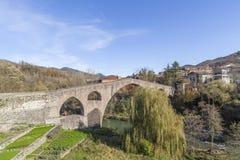 Sant Joan de les Abadesses,Catalonia,Spain. royalty free stock image