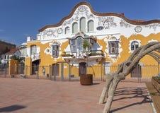 Sant Joan Despi,Catalonia,Spain. Architecture, modernist style, Can Negre, by Josep Maria Jujol Gibert. Sant Joan Despi, Province Barcelona, Catalonia royalty free stock image