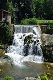 Sant Joan les Fonts waterfall Royalty Free Stock Images