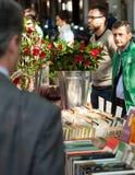 Sant Jordi è giorno di festa catalano di San Giorgio in Catalogna Fotografia Stock Libera da Diritti