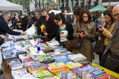 Sant Jordi Day in Barcelona Royalty-vrije Stock Fotografie
