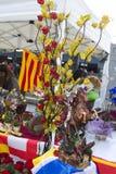 Sant Jordi Day en Barcelona Fotografía de archivo libre de regalías