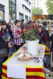Sant Jordi Day en Barcelona Fotografía de archivo
