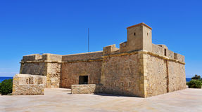 Sant Jordi de Alfama Fortress in Ametlla de Mar, Spain Stock Photography