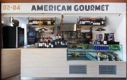 Sant Juan Market American Gourmet Stock Image
