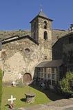 Sant Juli Church, Arros de Cardos, Royalty Free Stock Photography